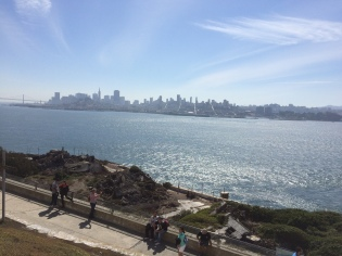 View of San Francisco from Alcatraz.